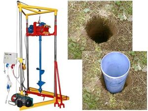 Скважина для воды для дачи